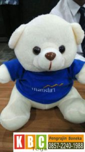 Boneka Bear Bank Mandiri