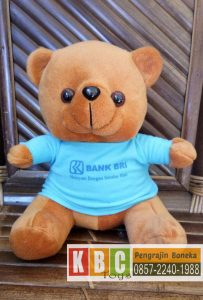 Souvenir Boneka Teddy Bear Bank BRI Tegal